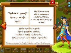 Tydzień poezji – Zapraszamy!