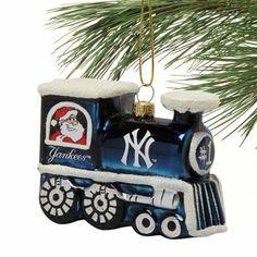 new york yankees train ornament