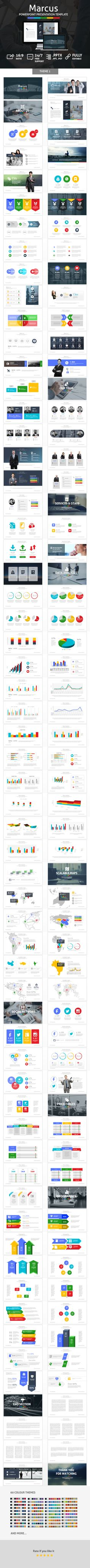 Marcus Powerpoint Presentation Template. Download here: http://graphicriver.net/item/marcus-powerpoint-presentation-template/15604204?ref=ksioks
