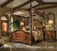 Michael Amini Excelsior Collection Bedroom.....THIS BEDROOM SET IS  EXQUISITE AND