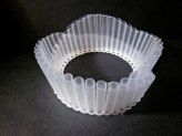 APAWAN KULTAWANICH -   test piece module -Plastic drinking straws is transformed into material for jewellery