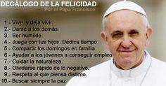 Vino y girasoles...: Reflexiones del Papa Francisco.
