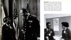 Air Force Major Bernice McGhee – First Black woman to attend traditional all-male Armed Forces Staff College at Norfolk, Va. Featured in EBONY Nov. 1970
