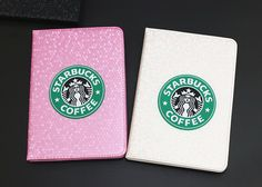 IPad case with starbucks pattern for