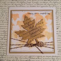 Created by Nicky for Craftwork Cards using Mulberry Tree stamps and leaf tags