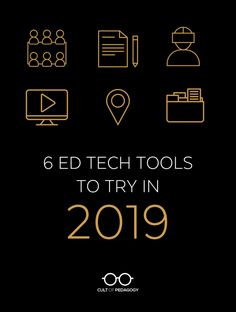 6 Ed Tech Tools to Try in 2019 is part of Ed Tech Tools To Try In Cult Of Pedagogy - This year's collection includes a discussion monitor, a tool that analyzes writing, a virtual reality tour maker, and my favorite new game Teaching Technology, Technology Tools, Educational Technology, Teaching Computers, Medical Technology, Computer Technology, Energy Technology, Instructional Technology, Instructional Design