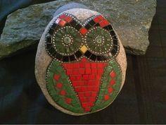 Resultado de imagem para Mosaic Garden owl