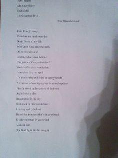 my poem <3