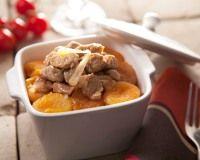 Filet mignon de porc aux abricots secs