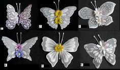 Butterfly embelishments I by WangoArt on Etsy, $1.50