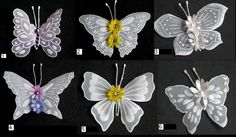 Butterfly embelishments I by WangoArt on Etsy, $1.50
