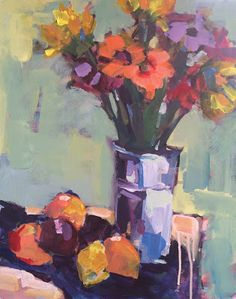 Page Pearson Railsback-Paintings - Gorgeous colours!