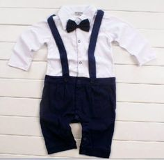 roupa de batizado masculino macacão azul marinho