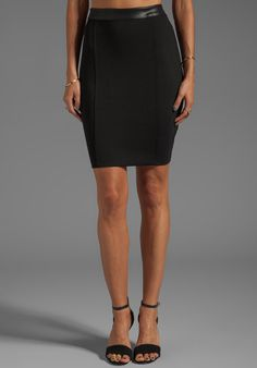 #Revolve Clothing         #Skirt                    #Bobi #Mini #Skirt #with #Leather #Waistband #Black #from #REVOLVEclothing.com                          Bobi Mini Skirt with Leather Waistband in Black from REVOLVEclothing.com                                http://www.seapai.com/product.aspx?PID=527344