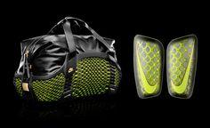 Nike Rebento 3D-Printed Duffel & Mercurial Shin Guard