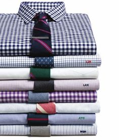 J. Crew doing a great job of putting ties and shirts together. I'll take one of each.