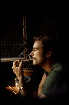 Sean Flynn in Saigon-1966. Photojournalist. Son of Errol Flynn. Disappeared in Cambodia 1970