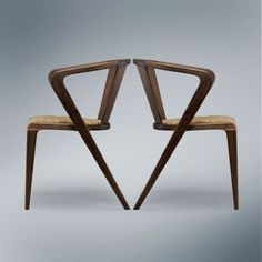 NOOSPHE.RE — Portuguese Roots chairs by Alexandre Caldas, 1953