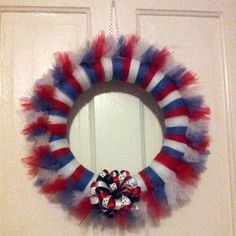 Homemade Tulle Wreath for any Occasion by LilysLittleBoutique, $14.00