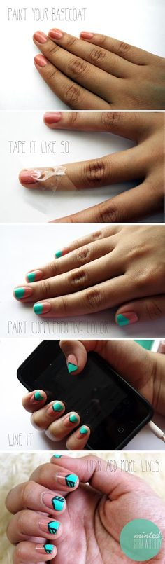 cute nails, and so simple too!