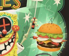 Spongebob at Gallery Nucleus  |  Steve Simpson