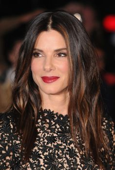 Sandra Bullock's hair coloring at the London Film Festival Gravity Premiere