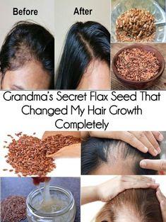 Hair Remedies Grandma's Secret Flax Seed That Changed My Hair Growth Completely Hair Remedies For Growth, Hair Growth Tips, Hair Care Tips, Hair Vitamins, Vitamins For Hair Growth, Healthy Hair Growth, Natural Hair Tips, Natural Hair Growth, Hair Regrowth