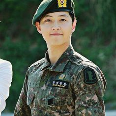 Sergeant Song Joong Ki. The real Soldier ❤ May 26, 2015 discharged from military service ✌
