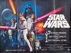 In 1977 George Lucas's Star Wars was released in cinemas all over the world.