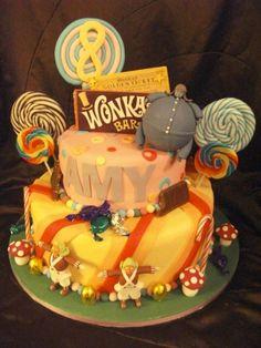 Willy Wonka & the Chocolate Factory Cake!!!