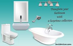 Luxurious Bathroom Collection