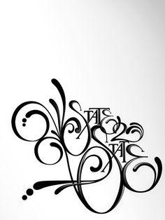 BEAUTIFUL LETTERS... / 70+ ejemplos de tipografia experimental (Diseños)