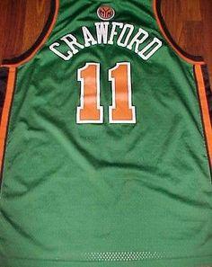 bd99a281a Reebok NBA N.Y. Knicks Jamal Crawford 11 Green St. Patrick 06 Swingman  Jersey XL