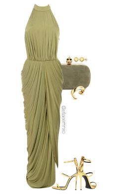 """""""Fancy Dinner"""" by efiaeemnxo ❤ liked on Polyvore featuring Alexander McQueen, Giuseppe Zanotti, Elsa Peretti, Sevil Designs, women's clothing, women, female, woman, misses and juniors"""