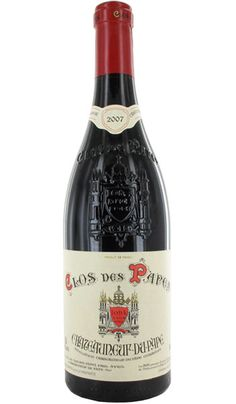 2007 Clos des Papes Chateauneuf du Pape, one of the really class Ch du P producers, if you see it buy it. Champagne Gift Baskets, Wine Gift Baskets, Vodka Gifts, Wine Gifts, Burgundy Red Wine, Rare Wine, Chateauneuf Du Pape, Pouring Wine, Grand Cru