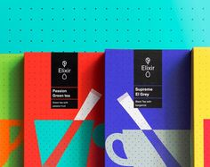 In the packaging design for Athens-based Elixir tea, Typical. Organization translated classic principals from tea culture in a new, grid-based tea ceremony. Coffee Packaging, Brand Packaging, Innovative Packaging, Tea Culture, Tea Brands, Grey Tea, Tea Box, Tea Ceremony, Creative Industries