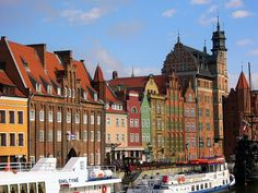 Checked off -Gdansk, Poland -loved shopping and learning about Amber
