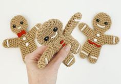 Gingerbread Man #crochet pattern by PlanetJune