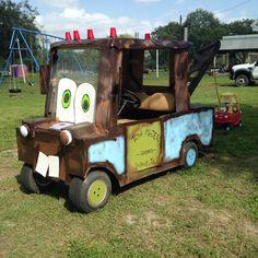Tow Mater!!! Golf cart Decorations!
