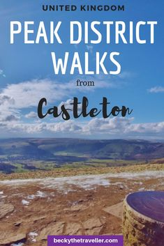 Best walks from Castleton in the Peak District. Day trip to the beautiful Peak District National Park in Derbyshire. Two circular walks from Castleton, in the Peak District, with directions and top tips for your walk. Hiking routes include Win Hill and Ma Peak District, Hiking Routes, Hiking Trails, Travel Tips For Europe, Travel Destinations, Travel Uk, Luxury Travel, 2 Days Trip, Hill Walking