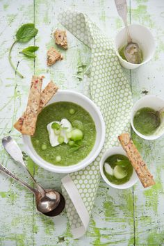 Fighting the Heat with a Honeydew, Mint and Lemon Thyme Soup :: Cannelle et VanilleCannelle et Vanille