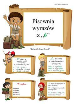 Learn Polish, Teacher Morale, Polish Language, Primary Teaching, Social Platform, Kids Learning, Hand Lettering, Blog, Parenting