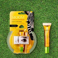 Canade MOOM Eyebrow Sharping Kit 100% Natural Organic 18g Eyebrow Remover 1EA   #MOOM