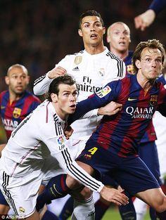Barcelona 2-1 Real Madrid: Luis Suarez scores El Clasico winner #dailymail www.classicfootballshirts.co.uk