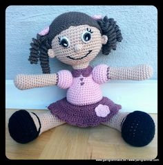Samira den hæklede dukke!