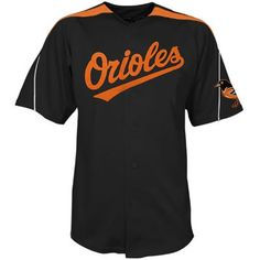 Baltimore Orioles Black Jersey $18.99   This jersey belongs to Baltimore Orioles  Color: black Size: M, L, XL, XXL, XXXL  The jersey is made of heavy fabric with nylon diamond weave mesh
