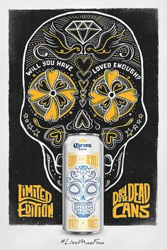 Corona Day of the Dead #packaging #design
