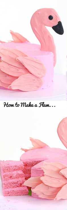 How to Make a Flamingo Brushstroke Cake | RECIPE... Tags: brushstroke cake tutorial, how to make a brushstroke cake, how to make a brush stroke cake, brushstroke cake recipe, brush stroke cake recipe, how to make a brush stroke cake recipe, how to make a brushstroke cake recipe, flamingo cake recipe, how to make a flamingo cake, how to make a flamingo cake recipe, swan cake recipe, how to make a swan cake, how to make a swan cake recipe, pankobunny, panko bunny, feather cake tutorial, how to…