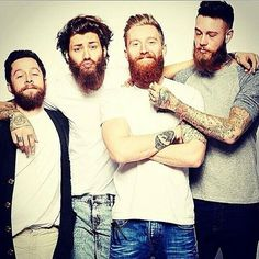 bearded boys