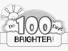 100th Day Hat Freebie 100 Celebration Hundred Days Teaching Kindergarten